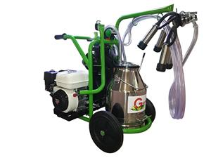 Aparate de muls bovine/ovine/caprine Gardelina cu motor termic Honda   - imagine 1