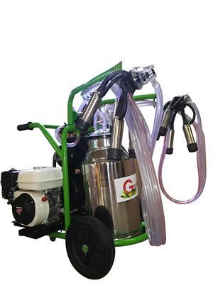 Aparate de muls bovine/ovine/caprine Gardelina cu motor termic Honda   - imagine 4