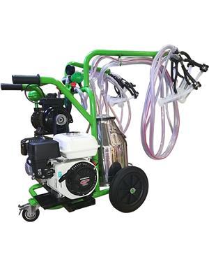 Aparate de muls bovine/ovine/caprine Gardelina cu motor termic Honda   - imagine 2
