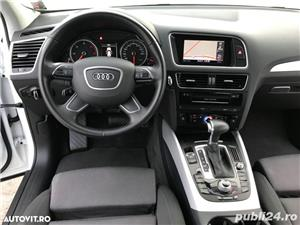 Audi Q5 Quattro / 2.0 TDi 190 CP / Full Led / Navigatie Mare  . - imagine 8