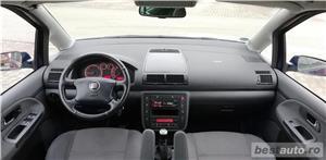 VW Sharan 2007 TDI Euro 4 Parktronic Cauciucuri NOI - 7 locuri Inmatriculat Martie 2019 - imagine 3
