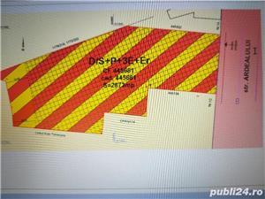 Vand teren la artera in Timisoara, Freidorf,  puz, ideal blocuri,spatiu comercial - imagine 3