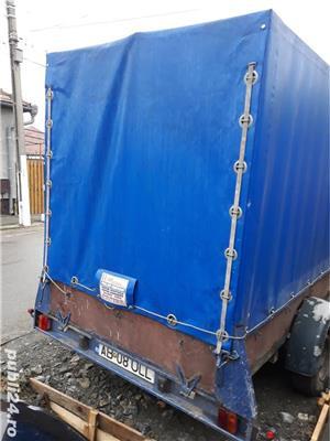 Remorca 2 tone cu prelata - imagine 2