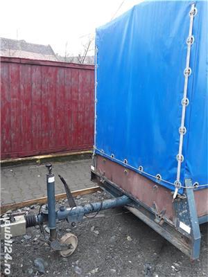 Remorca 2 tone cu prelata - imagine 5