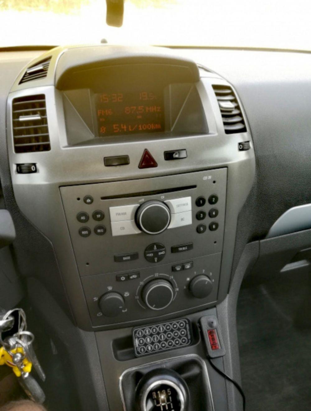 Opel Zafira B 1,9CDTI 120 Cp - imagine 7