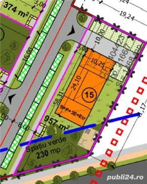 Lipovei,teren s-1468 mp, fs- 41 mp, pret 140 euro/mp - imagine 1