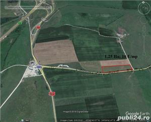 Vand teren arabil cu o mare deschidere la Calea Surii Mici 250 m - imagine 2