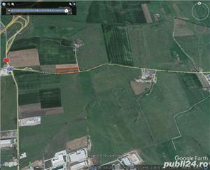 Vand teren arabil cu o mare deschidere la Calea Surii Mici 250 m - imagine 1