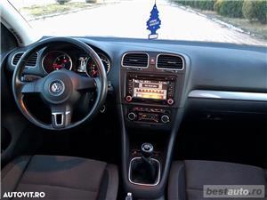 Volkswagen Golf 6 / 1.6 TDI 105 CP / Top Premium Edition 2013 - imagine 10