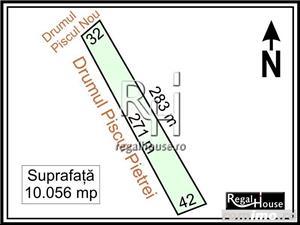 Baneasa - Piscul Pietrei, teren 10.056 mp - imagine 1