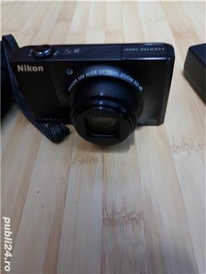 Camera digitala NIKON Coolpix S8000 impecabila + accesorii originale - imagine 1