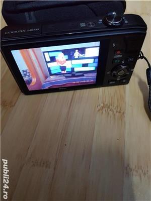 Camera digitala NIKON Coolpix S8000 impecabila + accesorii originale - imagine 3