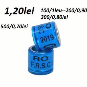 Inele porumbei 2019-FRSC cu talon 1,20lei - imagine 4