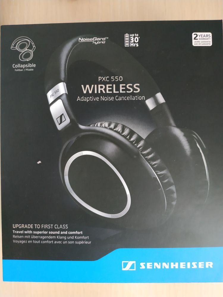 Casti audio sennheiser pxc 550 Wireless Noi Sigilate - imagine 1