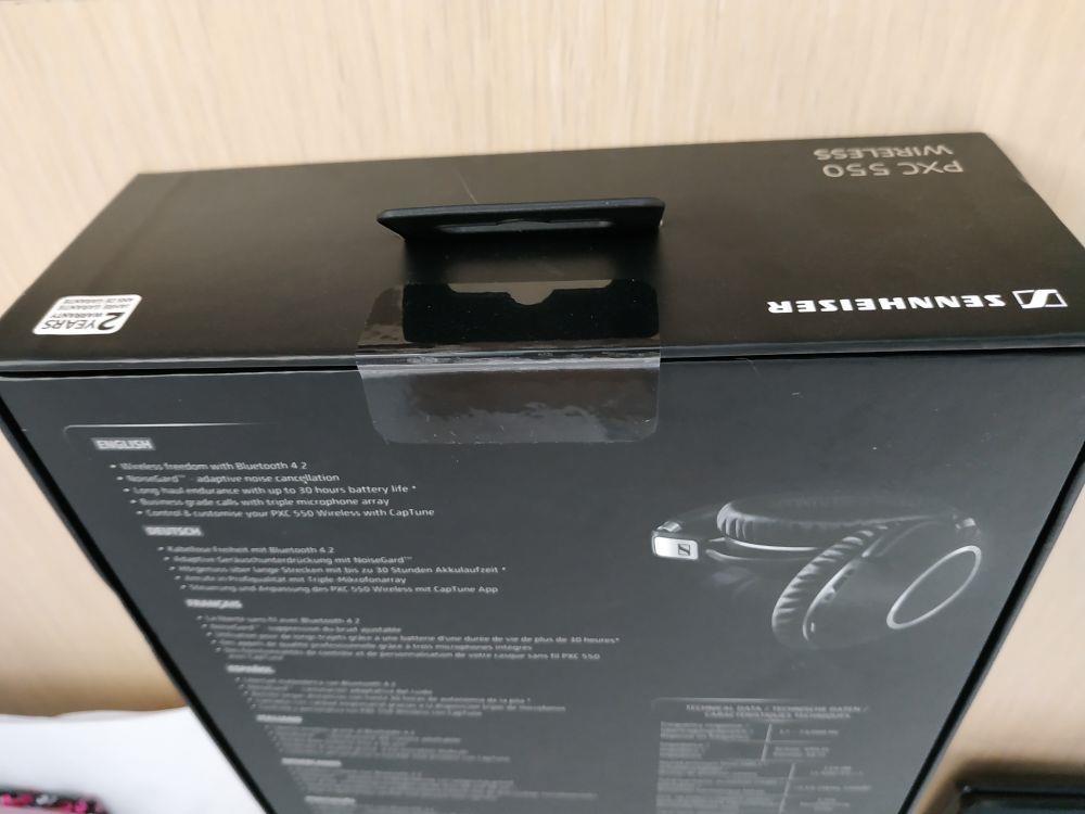 Casti audio sennheiser pxc 550 Wireless Noi Sigilate - imagine 2