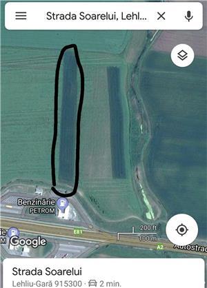 Vând teren extravilan lângă Autostrada A2  - imagine 1