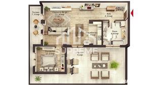 Penthouse 2 camere 64 mp utili, Doamna Stanca - imagine 6