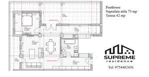 Penthouse 3 camere 73 mp utili, Doamna Stanca, Sibiu - imagine 5