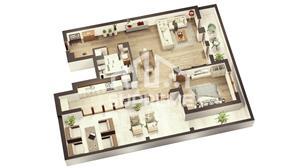 Penthouse 3 camere 73 mp utili, Doamna Stanca, Sibiu - imagine 2