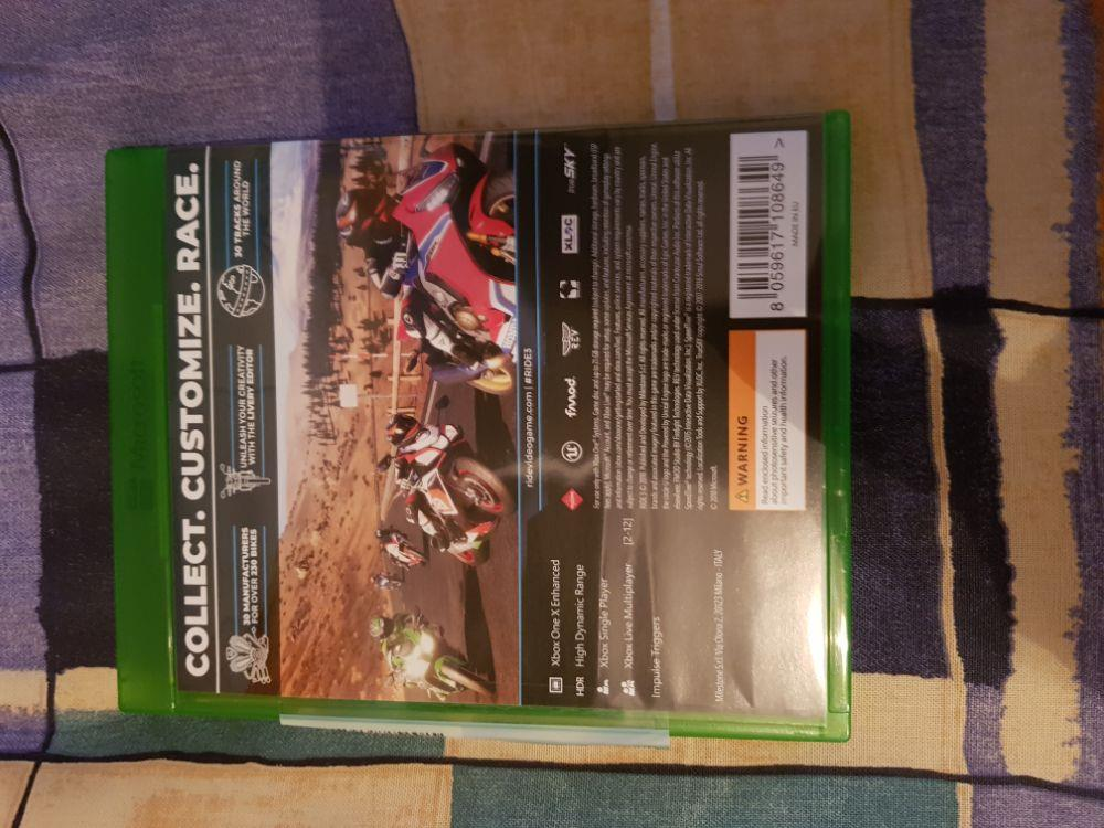 Vand joc curse moto Ride 3 Xbox One sau schimb cu Fifa 19 2019 Xbox One - imagine 3