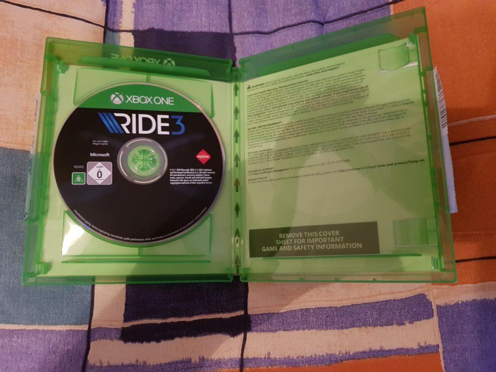 Vand joc curse moto Ride 3 Xbox One sau schimb cu Fifa 19 2019 Xbox One - imagine 2