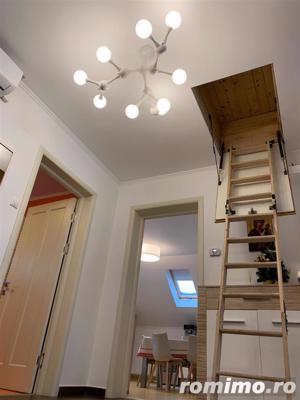 Apartament 3 camere, 85 mp,superfinisat/mobilat ,pod ,2 parcari - imagine 8
