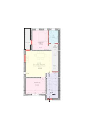 Dezvoltator apartament 3 cam conf 1 intabulat et 1 la alb 70+6 mp - imagine 2