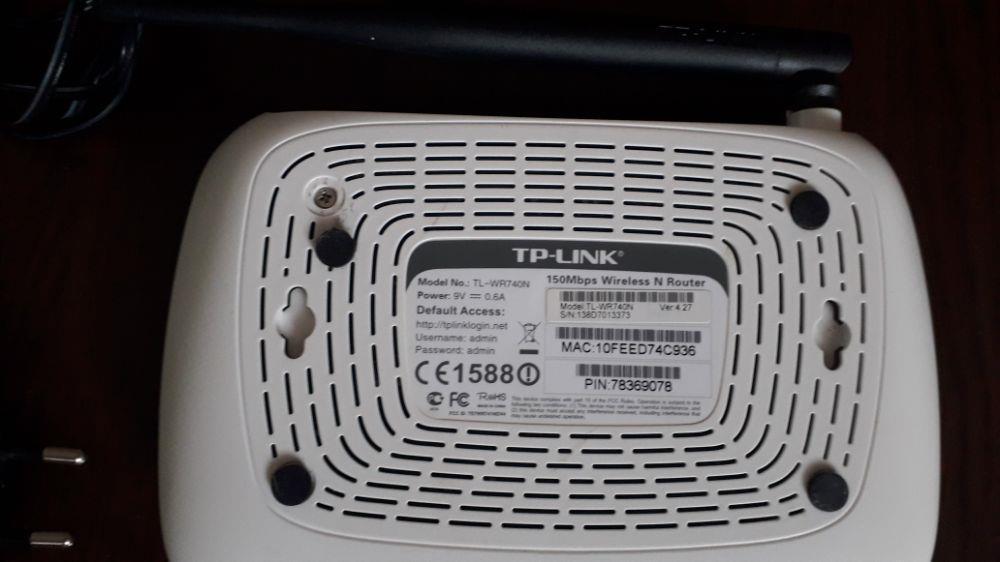 Router wi fi tp link de 150mb/s functionabil. - imagine 2