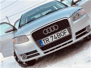 Audi  A4  1.9 TDI, an 2007, 1896 cm³, 116 c.p, 5650 euro - imagine 1