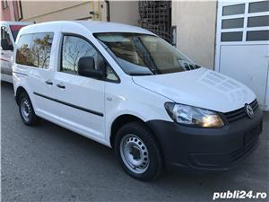 Vand Vw caddy fab. 2011, motor 1600 TDI / EURO 5, consum f. scazut - imagine 2