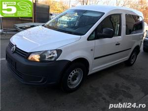 Vand Vw caddy fab. 2011, motor 1600 TDI / EURO 5, consum f. scazut - imagine 1
