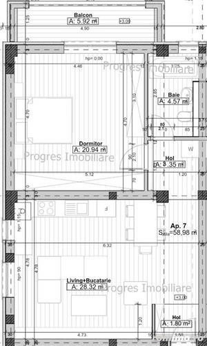 Apartamente cu 2 si 3 camere, intre Timisoara si Giroc – BLOC 2019 - imagine 9