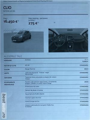 Renault Clio 2018, dotari FULL, predare LEASING 12 rate x 210 Euro, 40.500 km, NAVI, etc - imagine 15