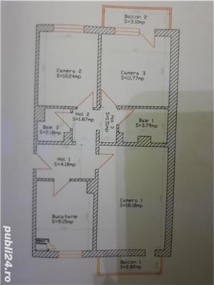 Proprietar vand apartament 3 camere zona soarelui lângă parcul pădurice - imagine 10