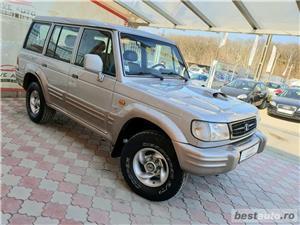Hyundai galloper,AVANS 0,RATE FIXE,motor 2500 TDI,100 CP,Clima,7 locuri,4x4 - imagine 2