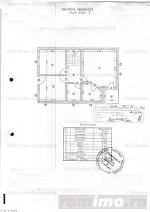 Vila de vanzare/inchiriere curte 300 mp zona Barbu Vacarescu - imagine 19