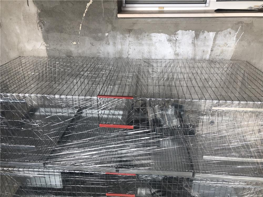 Cusca iepruri/ 100 cm cu un compartimente pentru o femele reproducatoare de rasa uriasa - imagine 7