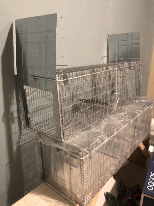 SuuuperCapcana vulpi cu doua intrari -140 cm Conditie:  Produs nou 2019 Capcana Ecologica ideala pen - imagine 5
