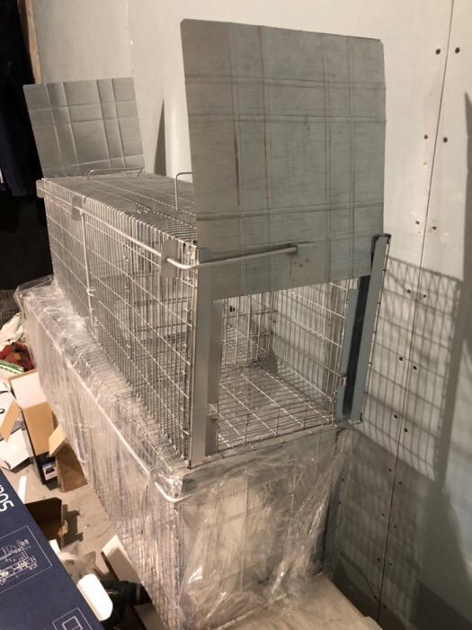 SuuuperCapcana vulpi cu doua intrari -140 cm Conditie:  Produs nou 2019 Capcana Ecologica ideala pen - imagine 3