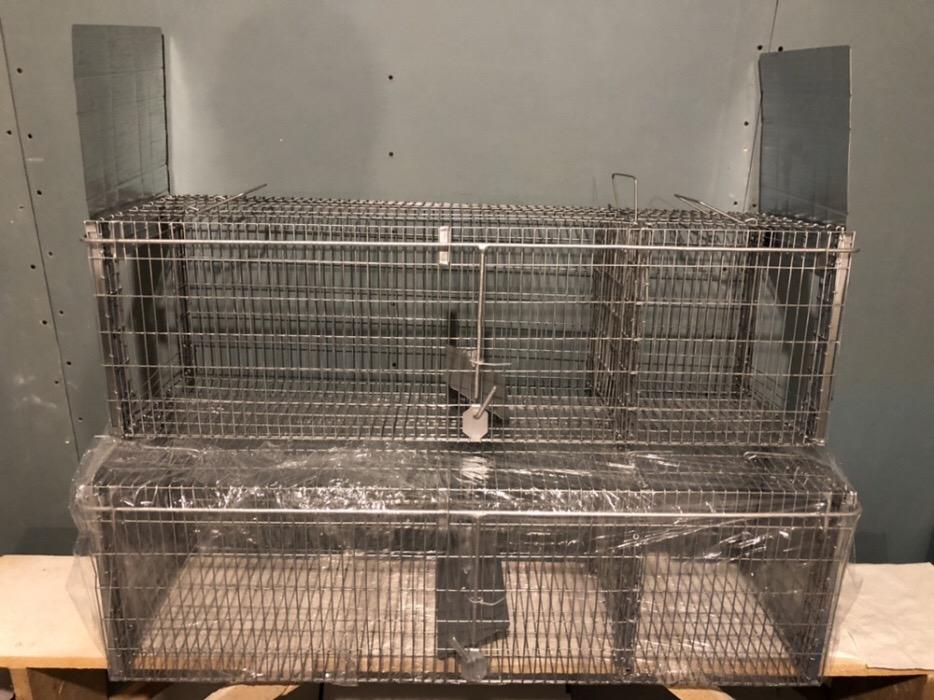 SuuuperCapcana vulpi cu doua intrari -140 cm Conditie:  Produs nou 2019 Capcana Ecologica ideala pen - imagine 7