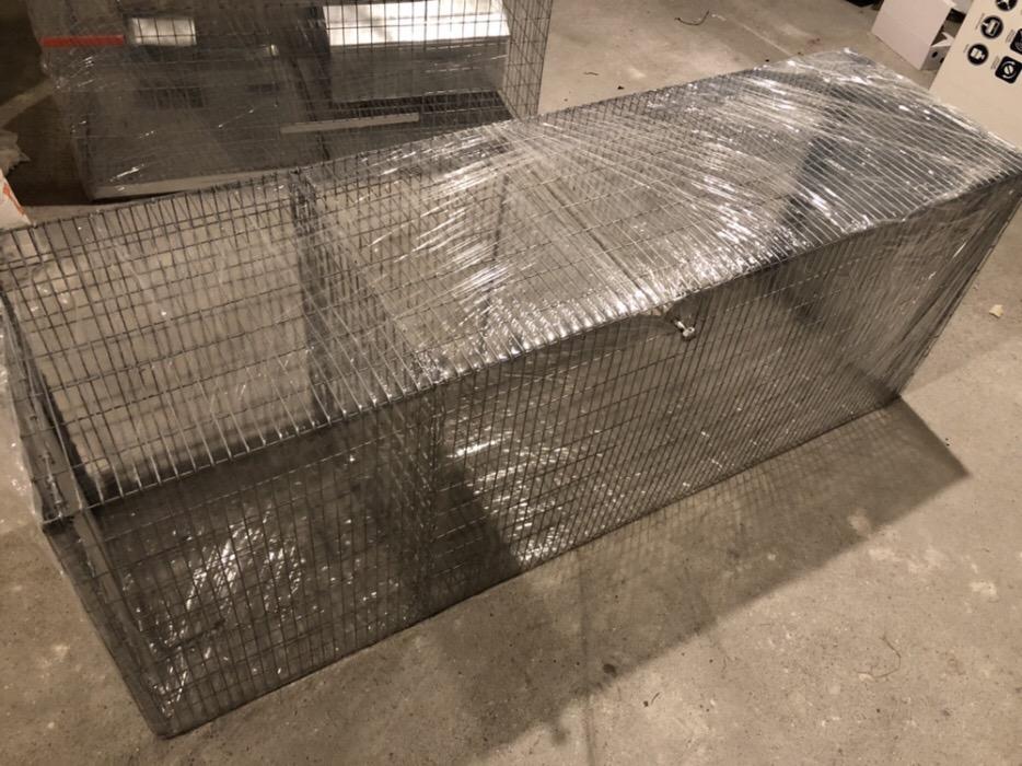 SuuuperCapcana vulpi cu doua intrari -140 cm Conditie:  Produs nou 2019 Capcana Ecologica ideala pen - imagine 9