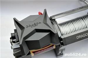 Troliu rapid Dragon Winch Highlander DWH 9000HD (trage 4082kg) - imagine 2
