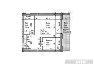 Apartament 1 camere zona Eugen Ionesco - imagine 11