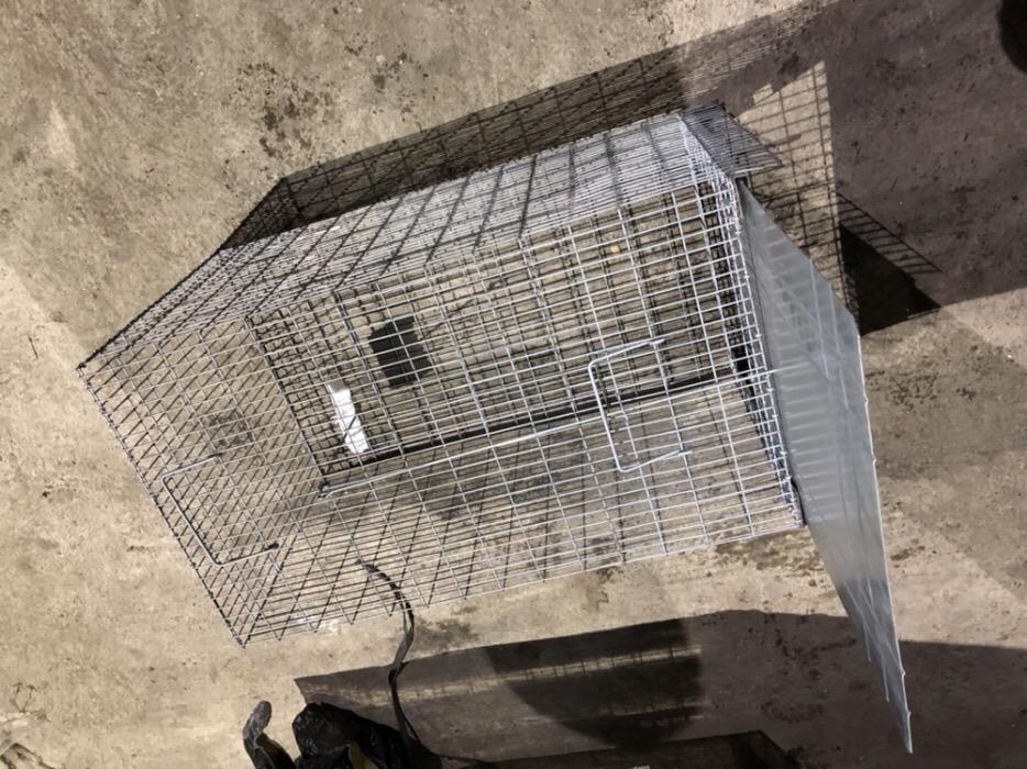 Capcana ecologică caini,pisici 120 cm.     - imagine 3