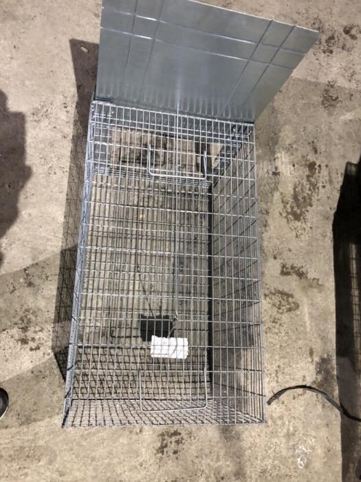 Capcana ecologică caini,pisici 120 cm.     - imagine 8