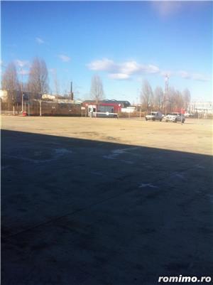 Teren 3300 mp cu fundatie deja executata pentru hala 1450 mp(1250 mp hala+200mp birouri)  - imagine 1