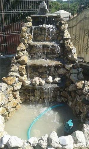 Vând piatra și montez transport oriunde în țară plante ornamentale cascade alei pietonale etc pentru - imagine 5