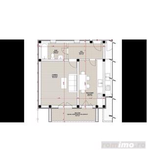 Apartament cu o camera, 42mp, constructie noua - imagine 3