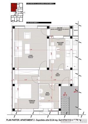 Giroc-Chisoda, apartament cu o camera, spatiu comercial - imagine 7