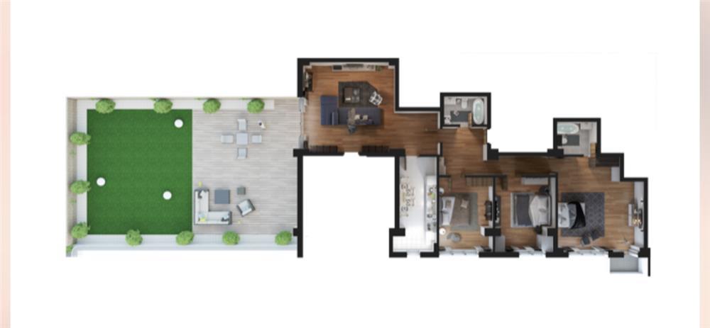 Penthouse deosebit Casa Presei Residence - imagine 4